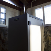 Caldera de pellets para calefacción por radiadores