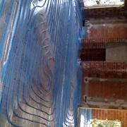 Calefacción suelo radiante con agua.