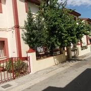 Calle privada de urbanización delicias