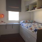Cama modular con cama debajo y cajones