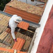 Cambio tejas
