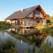 casa de madera tradicional