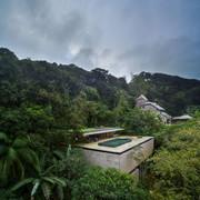 casa en la jungla, Brasil