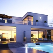 Viviendas sostenibles ,casas de hormigon con eficencía energética A