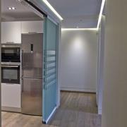 Cocina integrada en el espacio de la vivienda