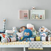 cojines para decorar con forma de animales