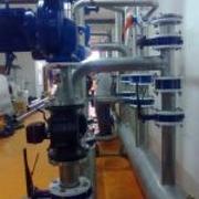 Colectores inox 316 caldera biomasa 1MW Invernaderos