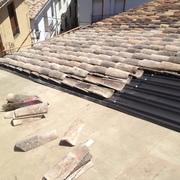 comienzo colocacion tejado