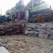 Construcción Muro De Rocalla