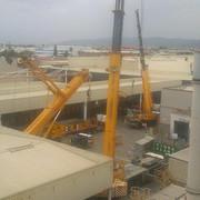 Proyecto de obra y Coordinación de seguridad y salud en altura, de trabajos con grúa en cubierta