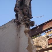 Derribo de edificio situado en el casco antiguo