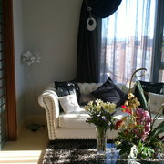 cortinaje romantico