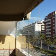 Cortinas de  cristal Málaga