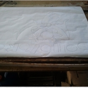 Creación de mural, diseño en papel