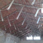 Rehabilitación de cubierta de bodega en santa cruz de mudela