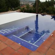 Piscina desbordante con cubierta electrica, Valencia