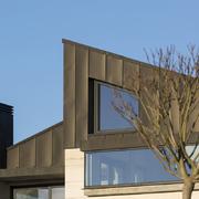 cubierta y fachada de zinc