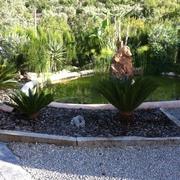 Tiendas Roca - Contruccion de un lago para adorno del jardin