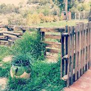 Delimitar espacios en el jardin