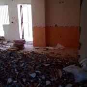 demolicion pared y redistriucion