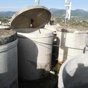 Retirada y reciclaje depósitos de amianto.