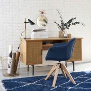 Despacho con silla giratoria vintage