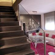 Detalle de las escaleras
