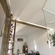 detalle techos - iluminación - cocina