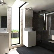 Diseño de vivienda unifamiliar con estilo minimalista