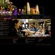 Diseño y desarrollo página web bar Gaucho