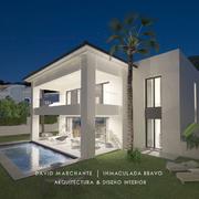 Dmg-Arquitectura - David Marchante - Inmaculada Bravo - Villa Alhaurín - Cam 05 noche