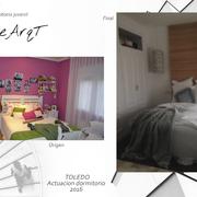 Actuación en un dormitorio