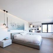 Dormitorio con almacenaje