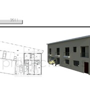 Edificio residencial multifamiliar y aparcamiento