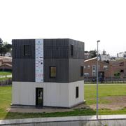 edificio sistema CA2D en Llinars del Vallés, Barcelona