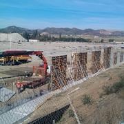 Ejecución de módulos de muro.