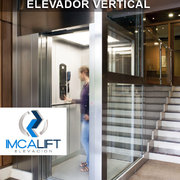 Elevador vertical portal Pamplona