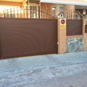 Puertas de cerrajeria con lama eliptica
