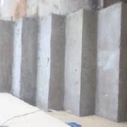 Escalera de hormigon revestida