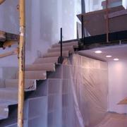 Escalera en construcción