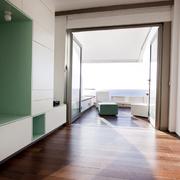 Espacio principal + terraza