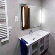 Espejo y lavabo