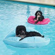 puffs para perros piscina