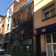 Construcción de edificio de nueva planta en el centro de Sabadell.