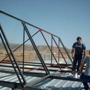 Producción de agua caliente sanitaria con placas solares y biomasa