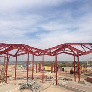 Estructura taquillas Parque Acuático Wargner (Madrid)