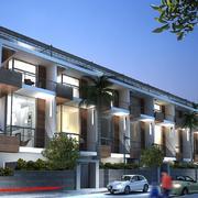 Edificio de viviendas y zonas comunes