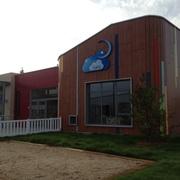 Fachada Escuela Infantil en la Factoria Airbus del CBC