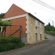 Reforma de fachada casa rural, Pontevedra