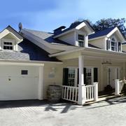 Casa al mas puro estilo americano construida por CARPENTER HOUSE.